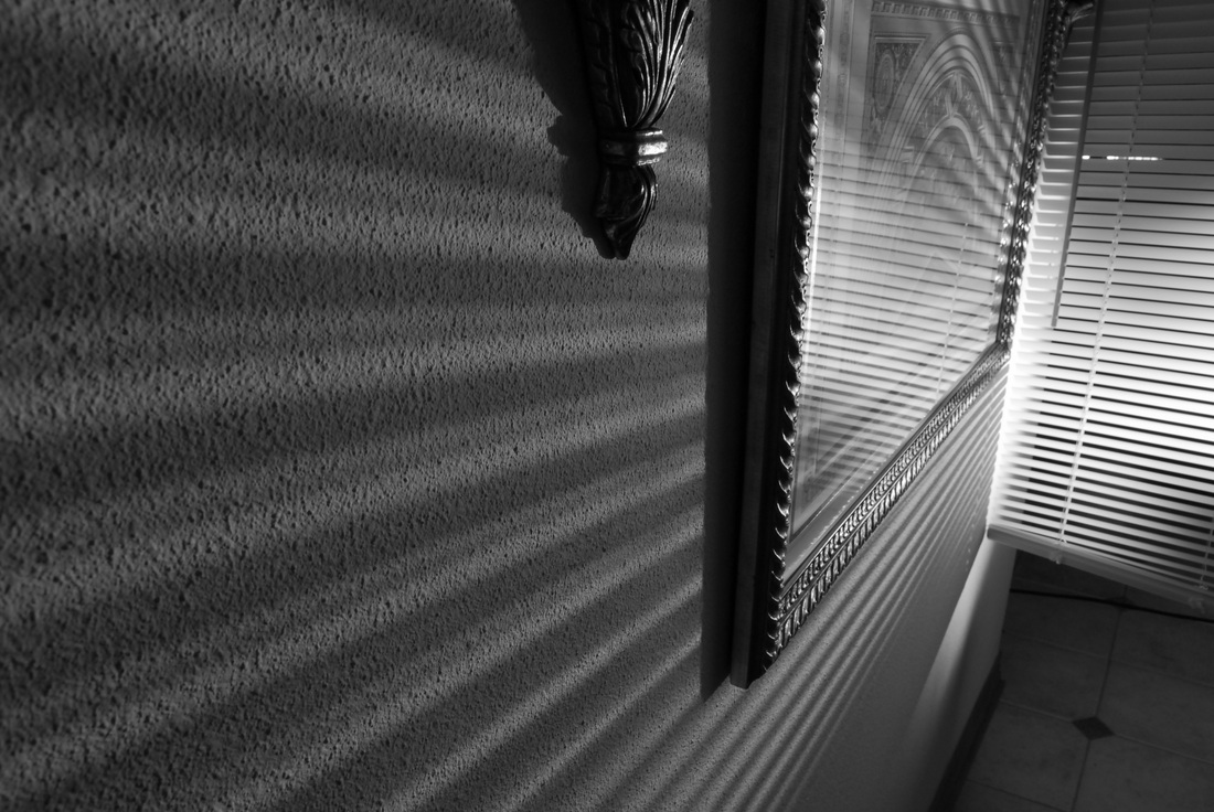 Film Noir Venetian blinds