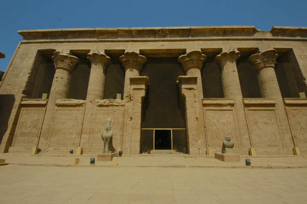Entrance to Edfu temple