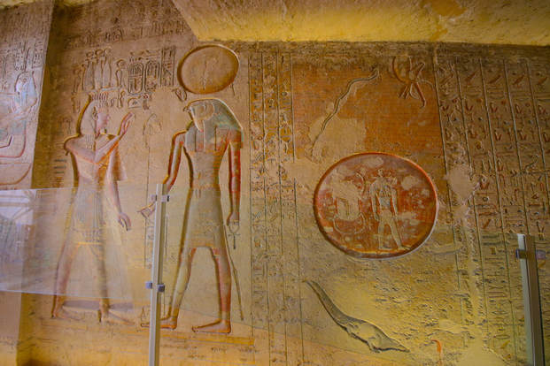 Egyptian Tomb Rameses III
