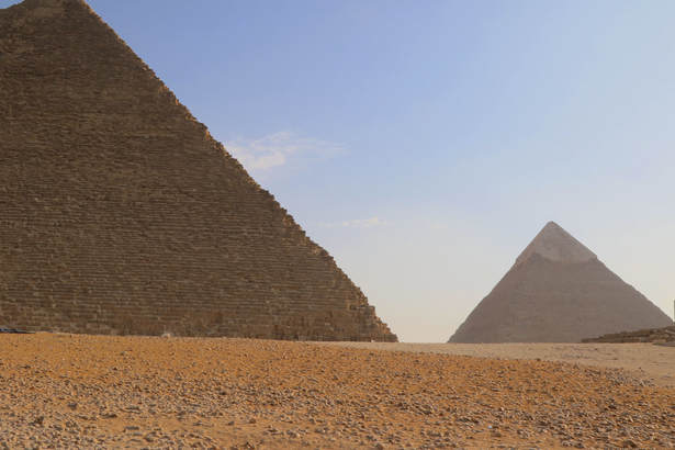 Great and Second pyramids