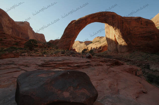Rainbow Bridge on Lake Powell