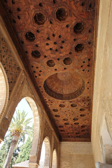 Alhambra wood ceiling