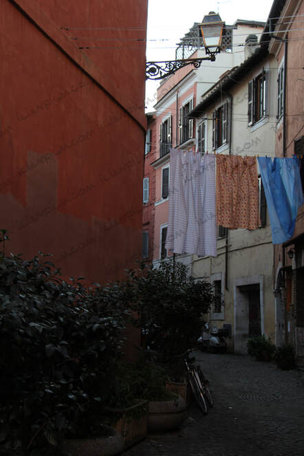 Trastevere neighborhood in Rome